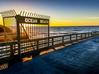 Ocean Beach Pier - Photo by Josh Utley