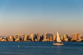 San Diego Bay Skyline - Photo by Josh Utley