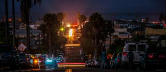 Newport Avenue - San Diego Blackout - Photo by Josh utley